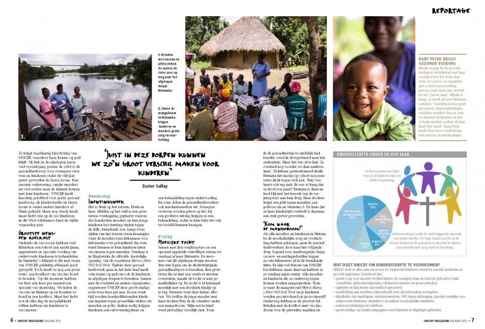 Unicef Magazine