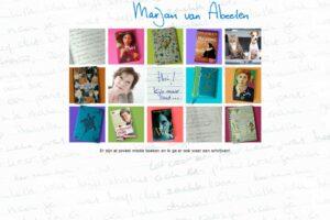 jeugdboekenschrijfster Marjan van Abeelen