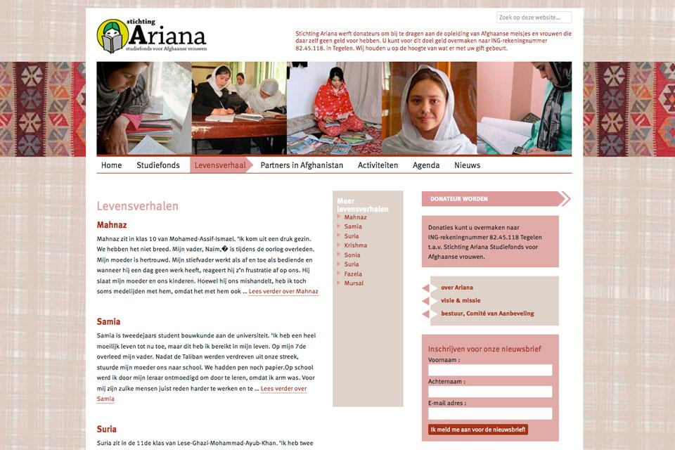 stichting Ariana
