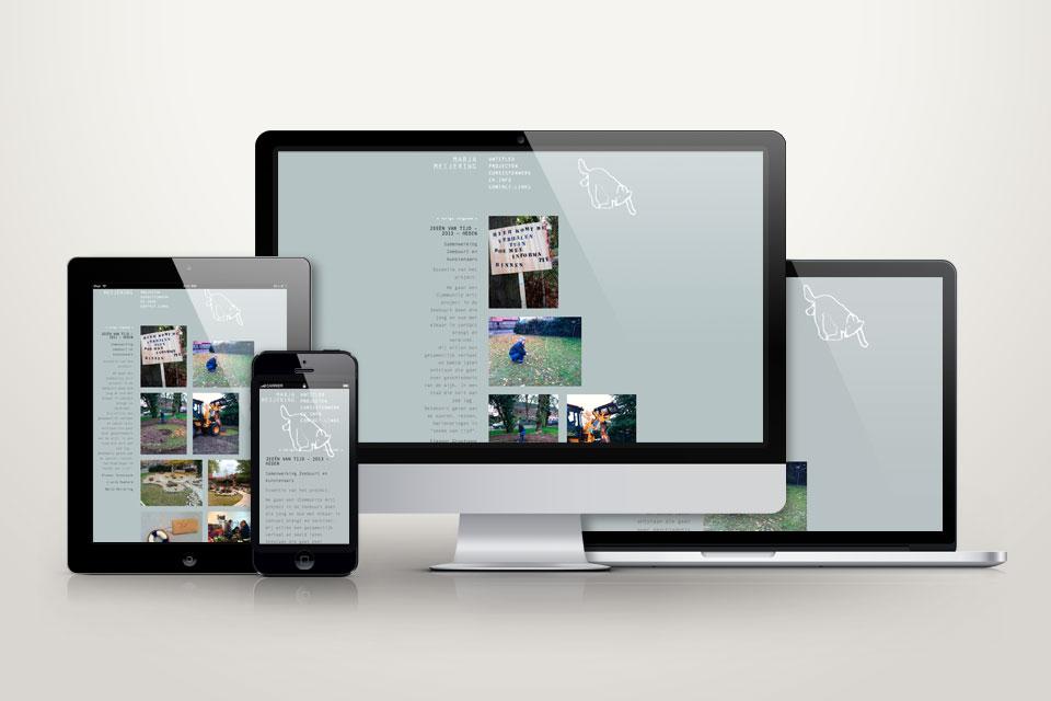 marja meijering responsive website