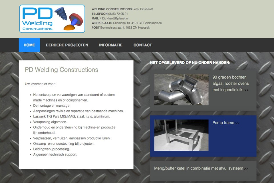 PD welding constructions