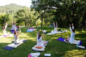 yoga-workshop tegen stress voor managers