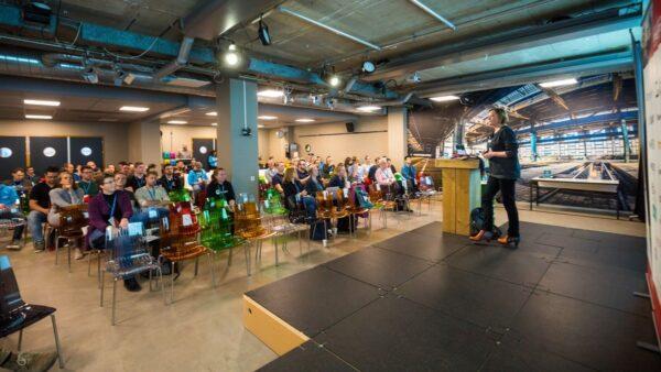 Rian Rietveld vertelt op WordCamp Utrecht over toegankelijkheid