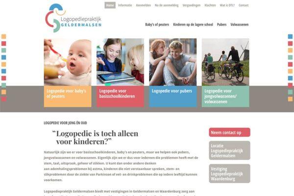 website logopedie-geldermalsen home