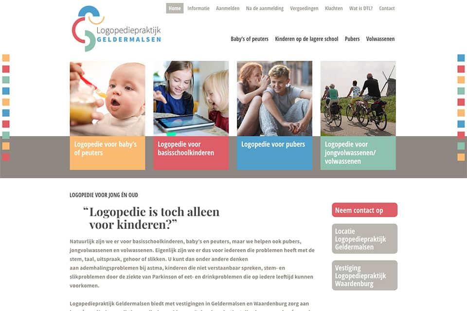 website logopedie-geldermalsen home