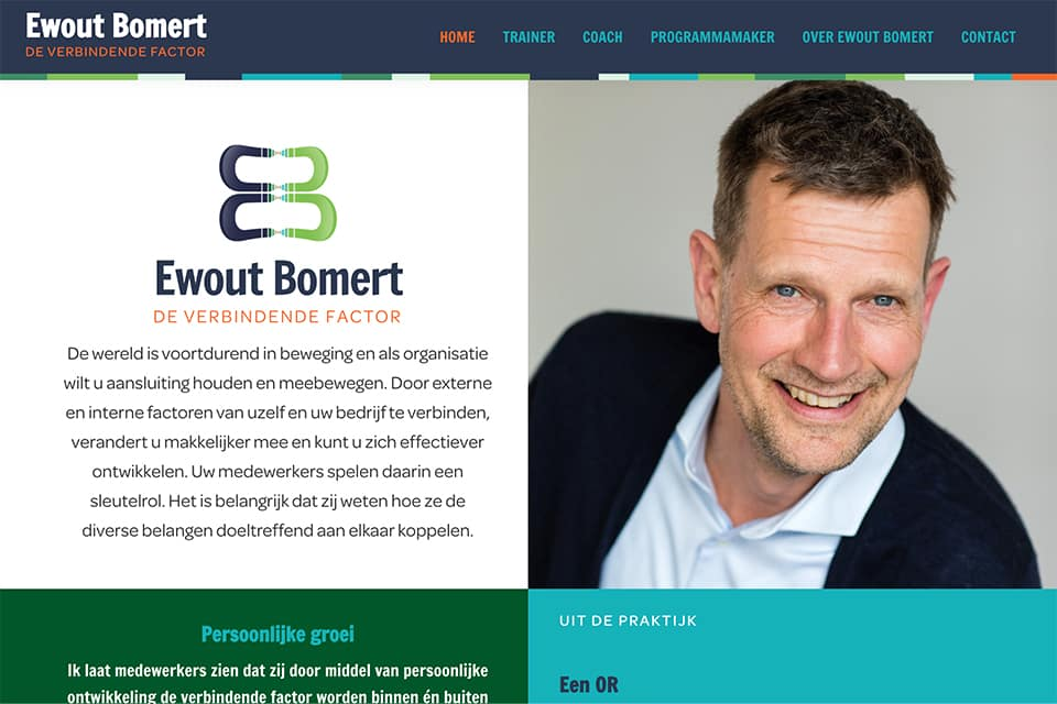 Ewout Bomert website