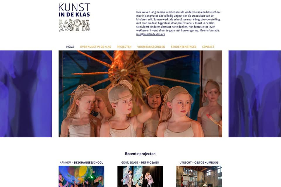 kunstindeklas-homepagina