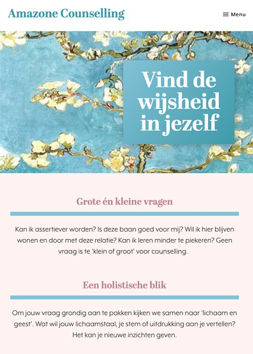 website amazone counselling home mobiel