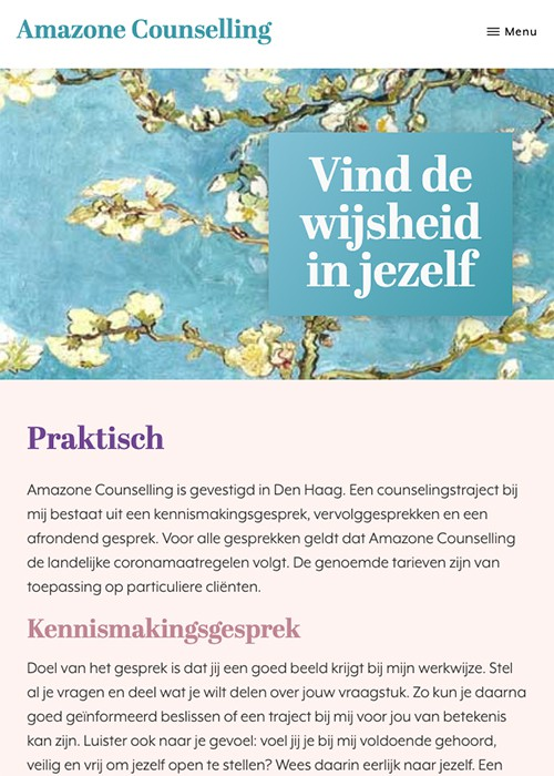 website amazone counselling praktisch mobiel