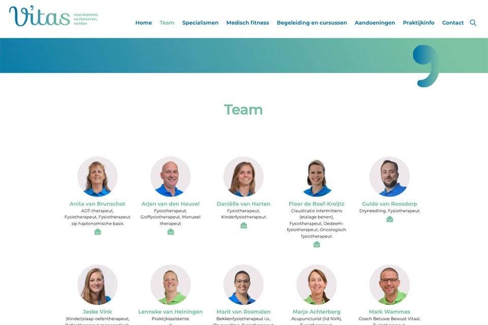 vitas-fysiotherapie.nl team
